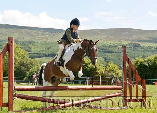 Annie Kavanagh jumping at Killusty Pony Show back in 2010. Unfortunately, this year's show has to be cancelled – for the second year in succession – due to Covid restrictions.